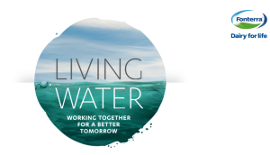 fonterra living water